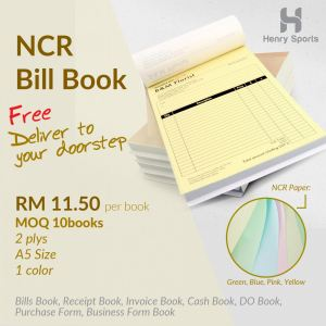 NCR Bill Book Promotion