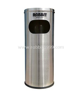 RABBIT STAINLESS STEEL ASHTRAY TOP LITTER BIN - RAB-001/A , RAB-002/A