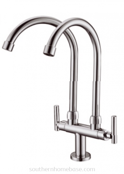 2 WAY PILLAR SINK TAP IT-W1679S2-2LS