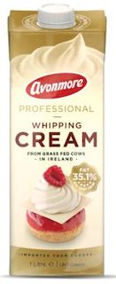 AVOMORE WHIPPING CREAM 35% 1L