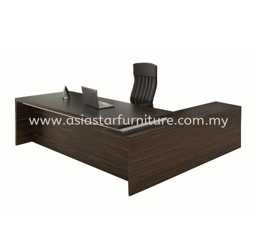 FINO DIRECTOR TABLE C/W WOODEN BASE