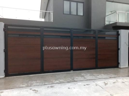 Folding Gate with Mix Aluminum @The Vantage, Kajang, Selangor