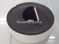 NBR Rubber Foam Tape With Adhesive Tape 3mm-50mm Thickness