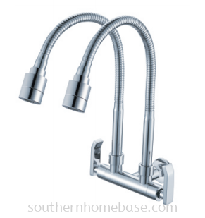 ADJUSTABLE 2 WAY WALL SINK TAP IT-W7048M9-AD5