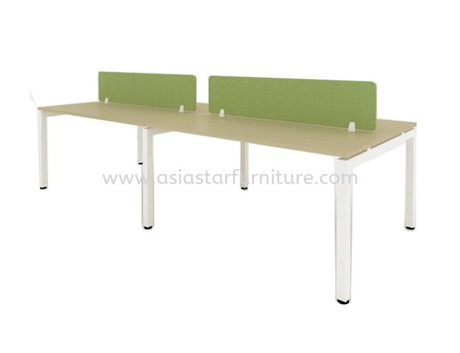 CLUSTER OF 4 OFFICE PARTITION WORKSTATION - Partition Workstation Solaris Dutamas   Partition Workstation Jalan Ipoh   Partition Workstation Ampang Point   Partition Workstation Imbi