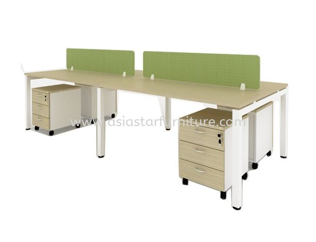 CLUSTER OF 4 OFFICE PARTITION WORKSTATION - Partition Workstation Mont Kiara   Partition Workstation Solaris Durtamas   Partition Workstation Jalan Ipoh   Partition Workstation Ampang Point