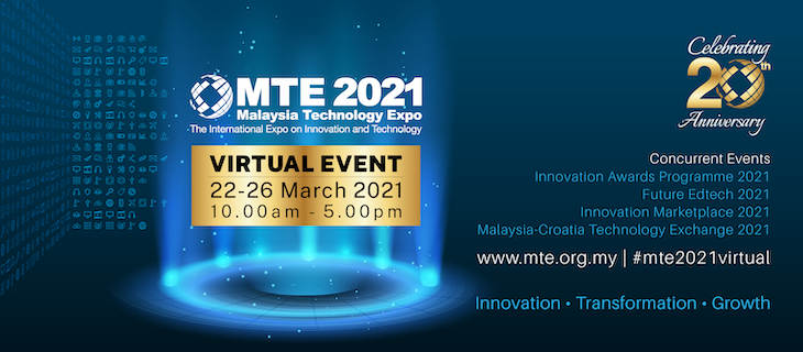 [Virtual Event] Malaysia Technology Expo 2021 March 2021