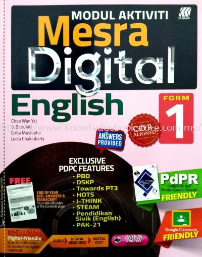 MESRA DIGITAL ENGLISH FORM 1