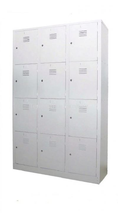 12 COMPARTEMNT STEEL LOCKER S 107/A