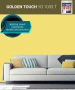 NIPPON INTERIOR PAINT Q-GLO - YO1093T GOLDEN TOUCH