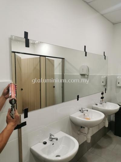 5mm clear mirror @Gravit8, Level 1,jalan Bayu/KS9 Kota Bayuemas, klang Selangor