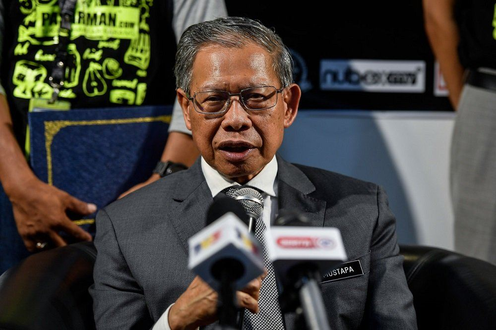 Mustapa recovered from COVID-19