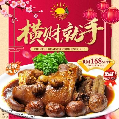 Chinese Braised Pork Knuckle