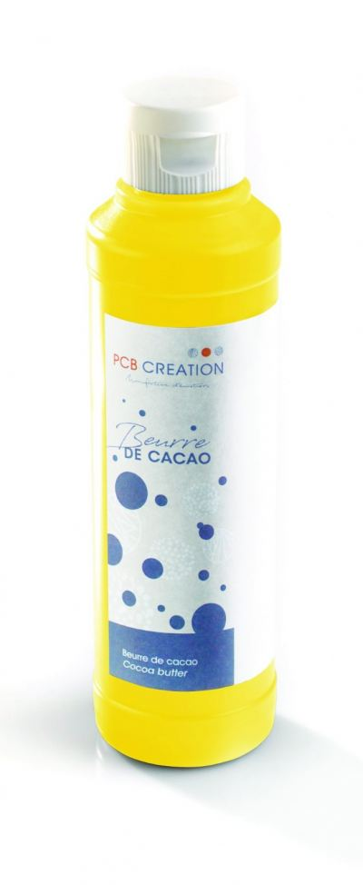 PCB CREATION COLOURED COCOA BUTTER LEMON YELLOW 200GM (4455)