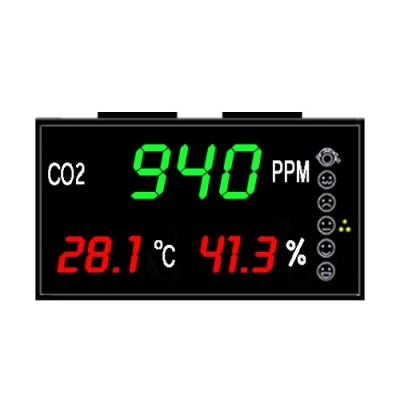 eYc DMB03 3-in-1 Multifunction CO2 Indoor Air Quality Large LED Display / Monitor / Indicator