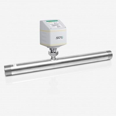 SUTO S421 FLOW AND CONSUMPTION SENSOR FOR COMPRESSED AIR AND GASES (INLINE-SENSOR)