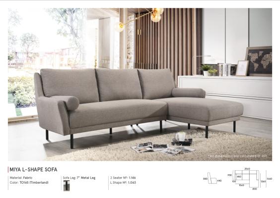 Miya L-Shape sofa