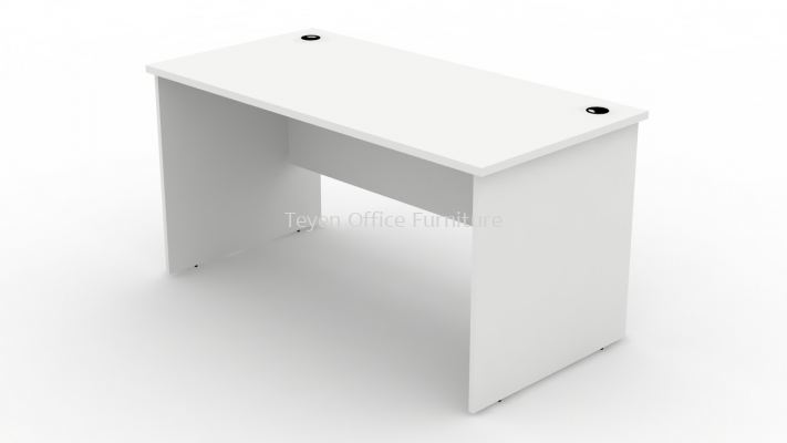 Retangular Writing office table/meja pejabat