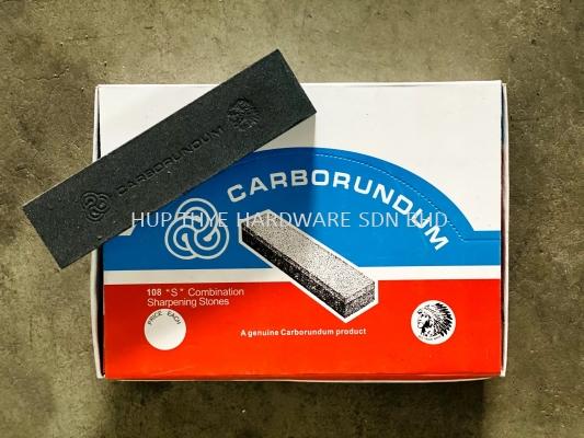 "CARBORUNDUM 108 ""S"" COMBINATION SHARPENING STONE"