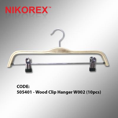 505401 - Wood Clip Hanger W002 (10pcs)