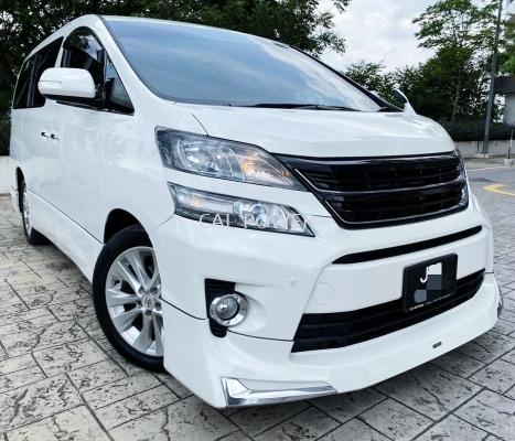 2012 Toyota VELLFIRE 2.4ZP(A)MODELISTA BODYKIT