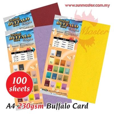 A4 Buffalo Card - Special Color (100s)