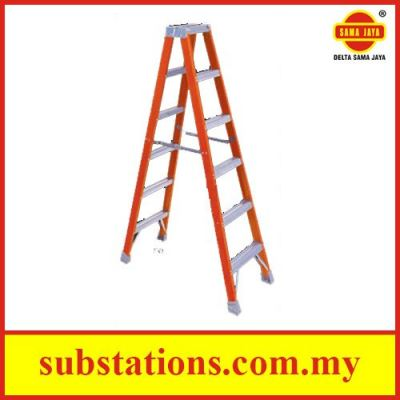 Industrial Fibreglass Twin Front Ladders (Imported)