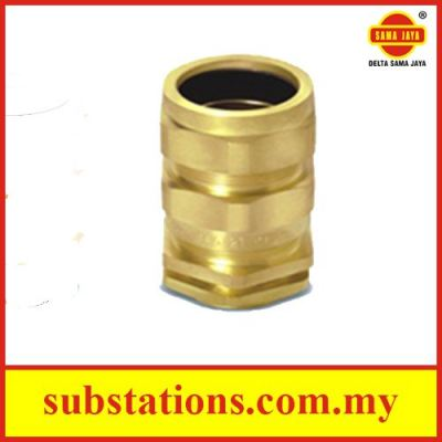 """Brass Cable Glands """"E1W"""" Type - Double Compression Glands"""