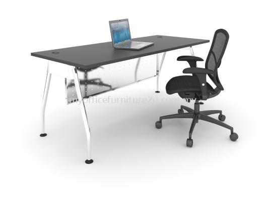 AR1875 A Leg with Rectangular Table 1800L x 750D x 750H mm (Walnut-Solid Leg)