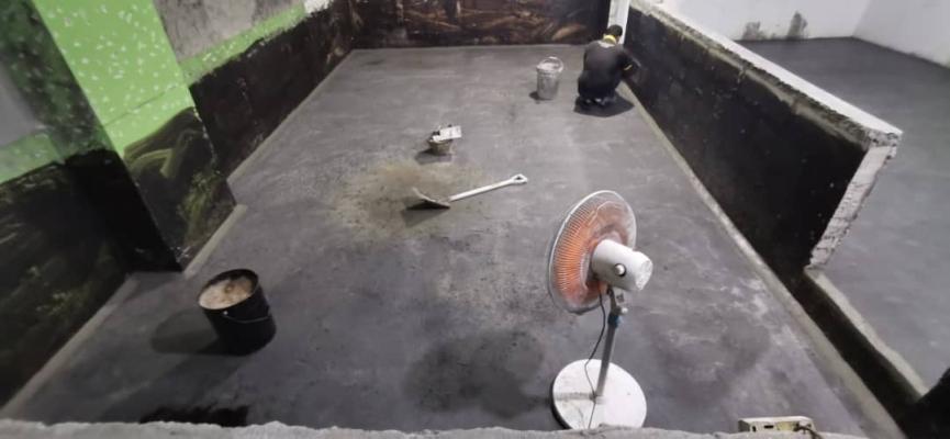 Waterproofing selangor - Sand Membrane