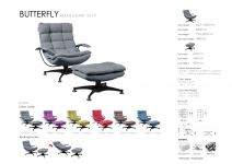 Butterfly relax chair 1S+1P