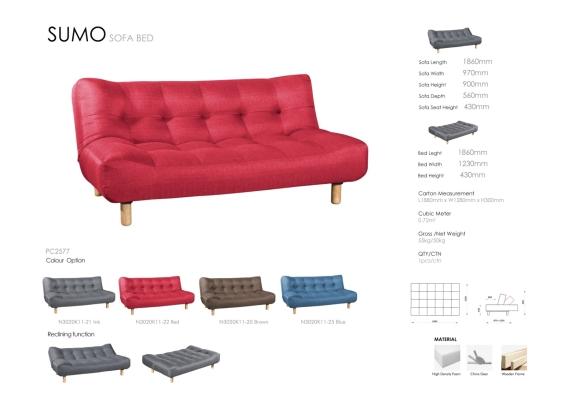 Sumo sofa bed