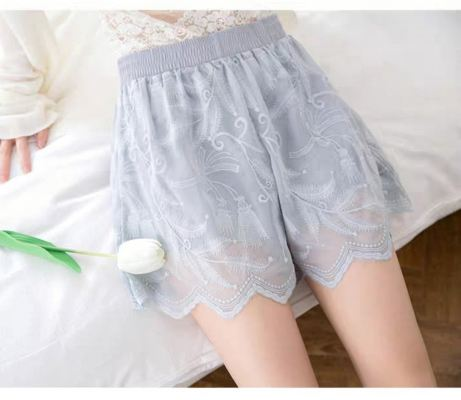 Lace Short Pant Knicker