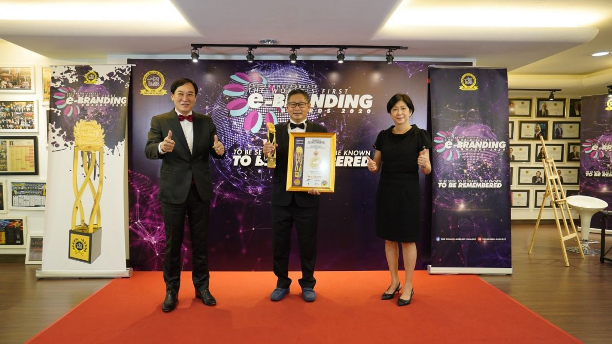 PUCM wins the coveted business strategic alliance award from the world's brand foundation