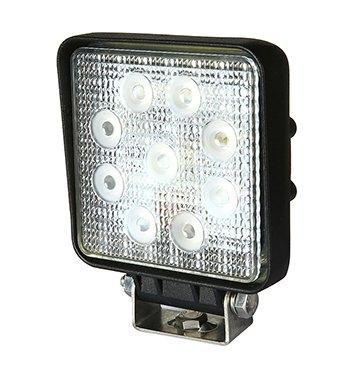 QL9800W27S Water/dustproof LED Work Light with IP67 109(W)X109(L)X38(H)