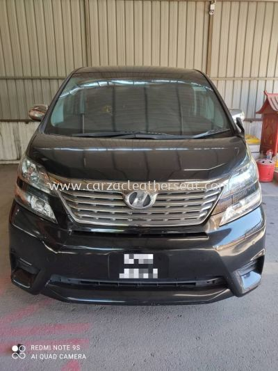 TOYOTA VELLFIRE DASHBOARD COVER REPLACE