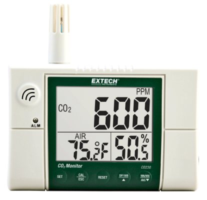 Carbon Dioxide (CO2) Meters - Extech CO230