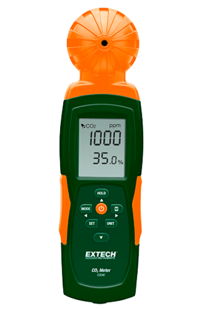 Carbon Dioxide (CO2) Meters - Extech CO240
