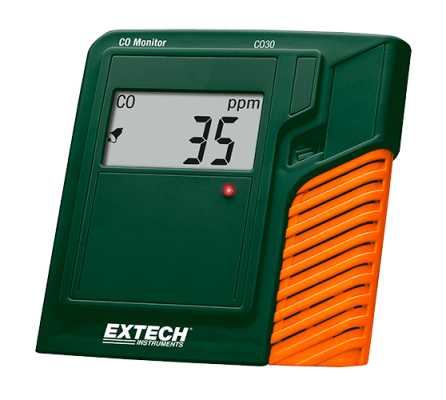 Carbon Monoxide (CO) Meters - Extech CO30