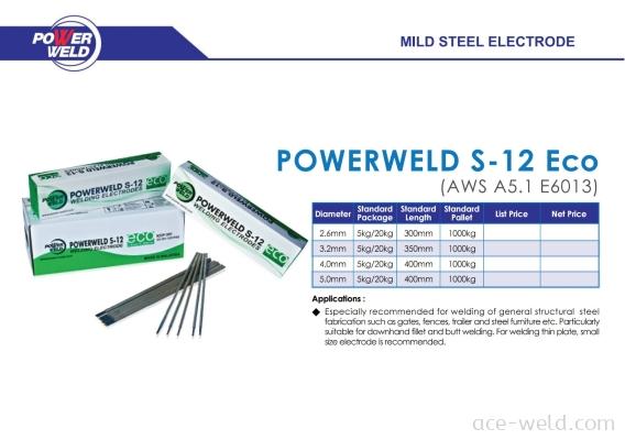 Powerweld S-12 Eco
