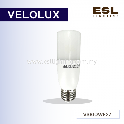 VELOLUX 10W LED STICK BULB E27 AC85-265V 50/60Hz