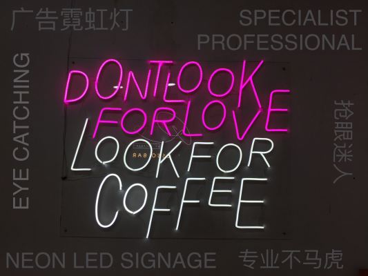 PINK NEON LED SIGN