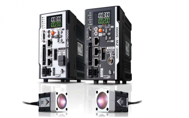 OMRON ZW-8000 / 7000 / 5000 Series Reliable measurements for any material and surface types