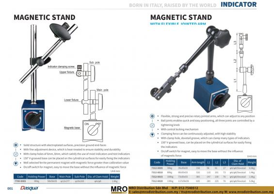 Magnetic Stand & Magnetic Stand With Flexible Joined Arm