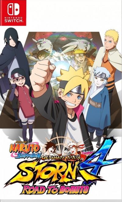 Nintendo Switch Naruto Ultimate Ninja Storm 4 Road to Boruto