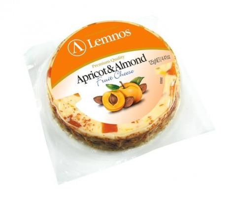 LEMNOS APRICOT AND ALMOND CHEESE 125G