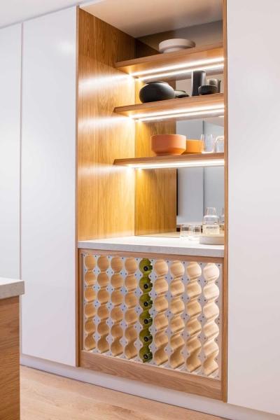 Wine Display Cabinet