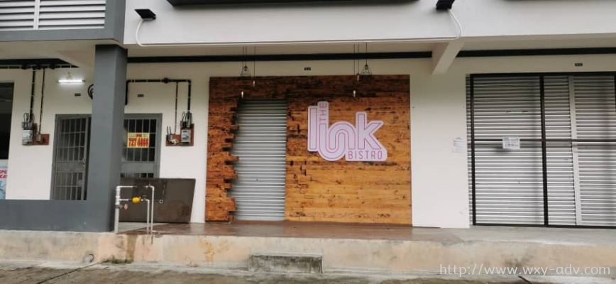 The Link Bistro Led Neon Light Signboard