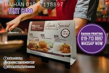 Tent Card