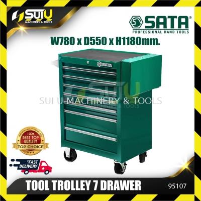 SATA 95107 31inch 7 Drawer Roller Cabinet